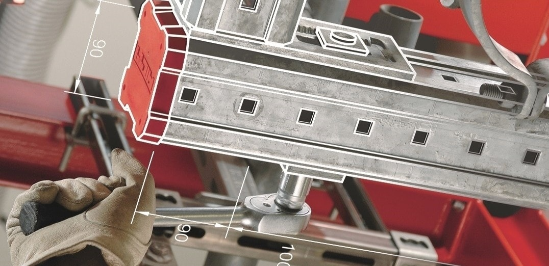 Hilti PROFIS Installation software for modular support systems