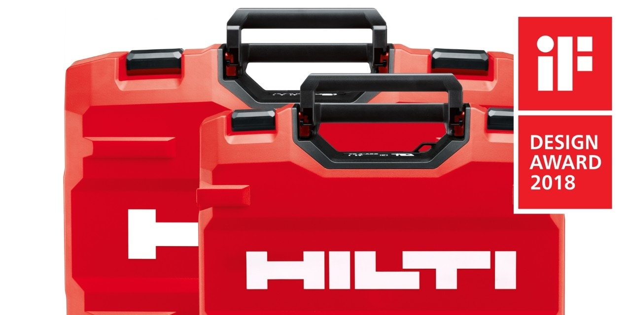 Le innovative proposte di Hilti Premiate dagli IF Design Awards