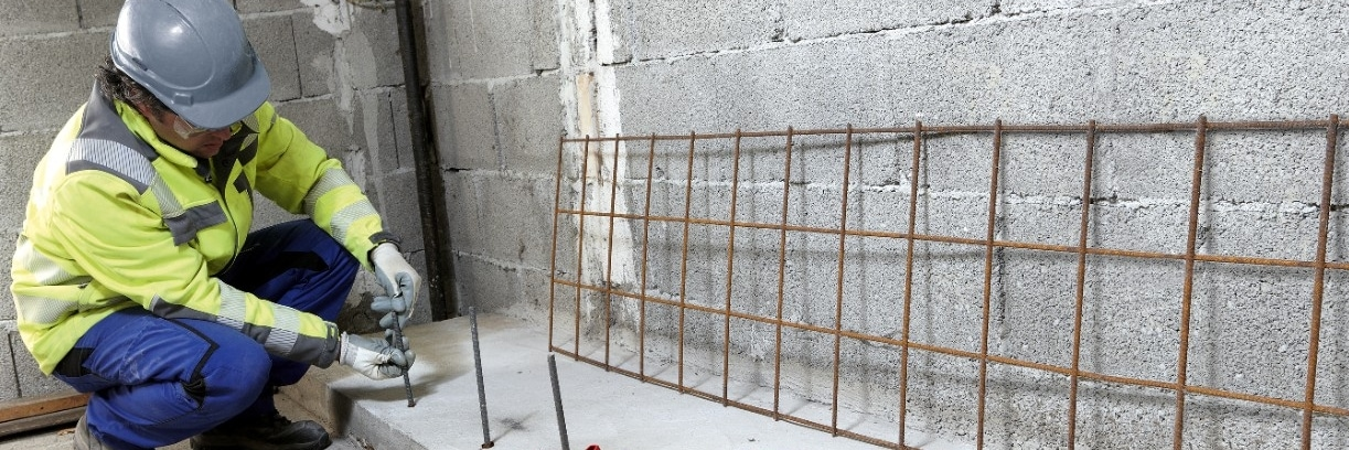 Rebar in concrete